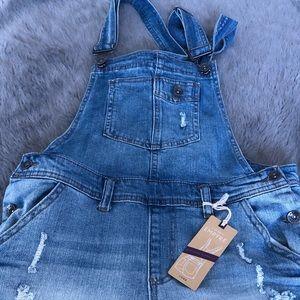 Brand new overalls!